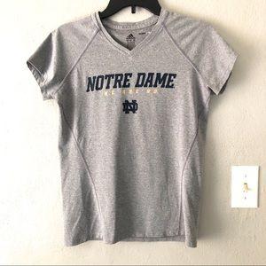 Adidas University Of Notre Dame ClimaLite T Sz M